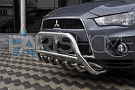 Кенгурятник Кенгур Передняя защита Mitsubishi Outlander XL 2007-2012