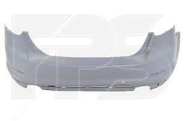 Бампер задний Ford Mondeo 07- +спойлер, +отверстия под парктроник (два выхлопа) седан (FPS). 8S71F14K823ABW
