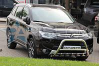 Кенгурятник Кенгур Передняя защита Mitsubishi Outlander New 2012-