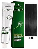 1-0 Черный натуральный перманентный крем-краситель Schwarzkopf Professional Essensity Permanent Colour 60 мл