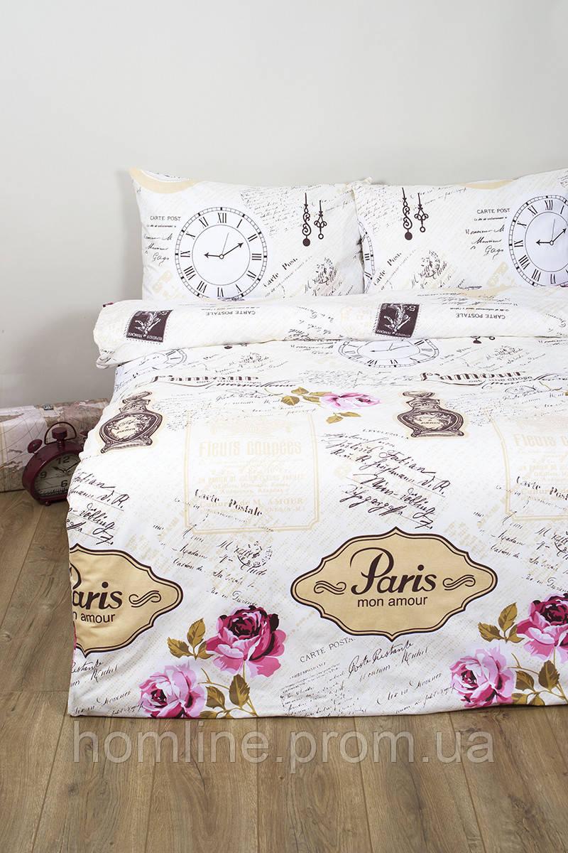 Постельное белье Lotus Ranforce Forever розовое двухспального размера