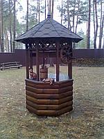 Домики для Колодцев. Деревянные Колодцы!!!