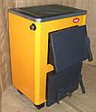 Твердотопливный котёл Огонек с плитой КОТВ-16П (СТАЛЬ 4мм), фото 4