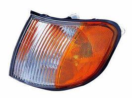Указатель поворота левый KIA Sportage -03 бело-желтый (DEPO). 323-1501L-NS