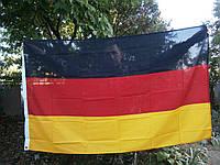 Флаг Германии с металлическими люверсами 90x150 cм. MFH. Германия.
