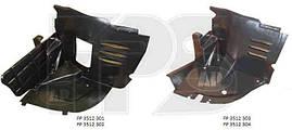 Воздухозаборник между бампером и подкрылком Mercedes 202 93-01 передний левый (FPS). 2026981930