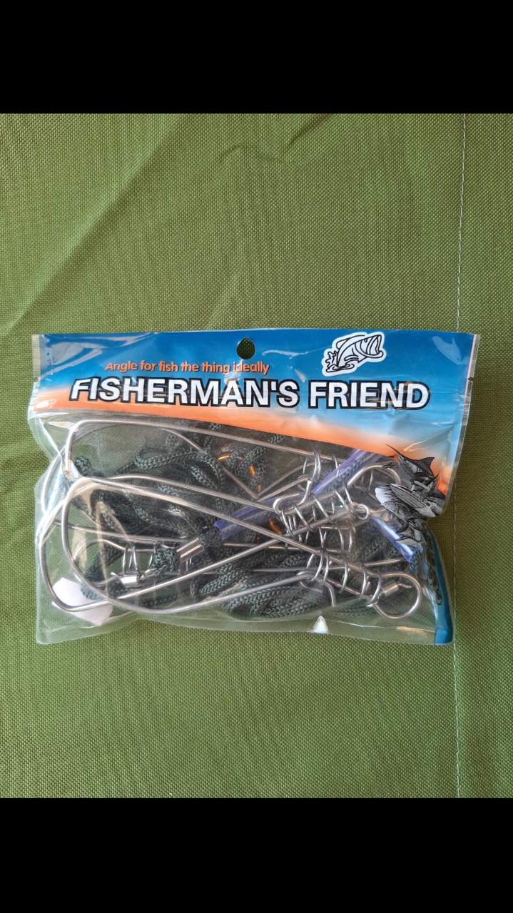 """КУКАН РЫБОЛОВНЫЙ """"FISHERMANS FRIEND""""НА 5 МЕСТ С НЕРЖАВЕЮЩЕЙ СТАЛИ """" СУПЕР КАЧЕСТВО"""""""