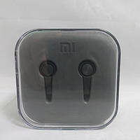 Вакуумные наушники гарнитура XIAOMI M5 Piston с микрофоном Чёрный