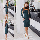 Платье / трикотаж джерси / Украина 15-446, фото 3