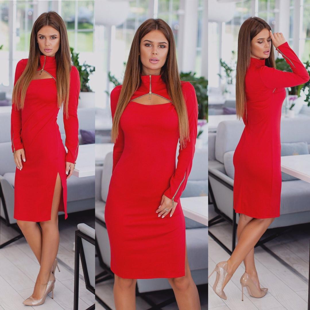 Платье / трикотаж джерси / Украина 15-446