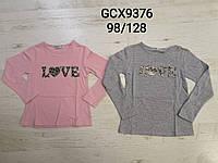 Реглан для девочек оптом, Glo-story, 98-128 см,  № GCX-9376, фото 1