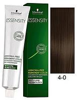 4-0 редне коричневый натуральный перманентный крем-краситель Schwarzkopf Professional Essensity Permanent 60мл