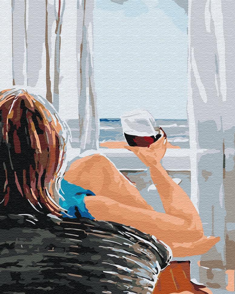Картина по номерам Утро на берегу, 40x50 см., Brushme