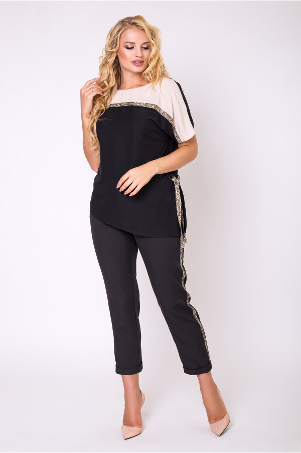 Стильная блуза с 50 по 56 размер