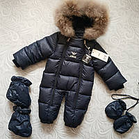 Теплый зимний комбинезон Armani