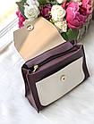 Женская сумка в комбинированном цвете, эко кожа, фото 4