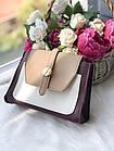 Женская сумка в комбинированном цвете, эко кожа, фото 7