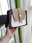 Женская сумка в комбинированном цвете, эко кожа, фото 6