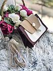 Женская сумка в комбинированном цвете, эко кожа, фото 9