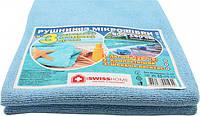 Полотенце из микрофибры ProSwissHome 001947 90*150см синее (пляж+басейн)