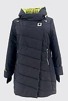 Демисезонная батальная женская куртка (50-58р.)