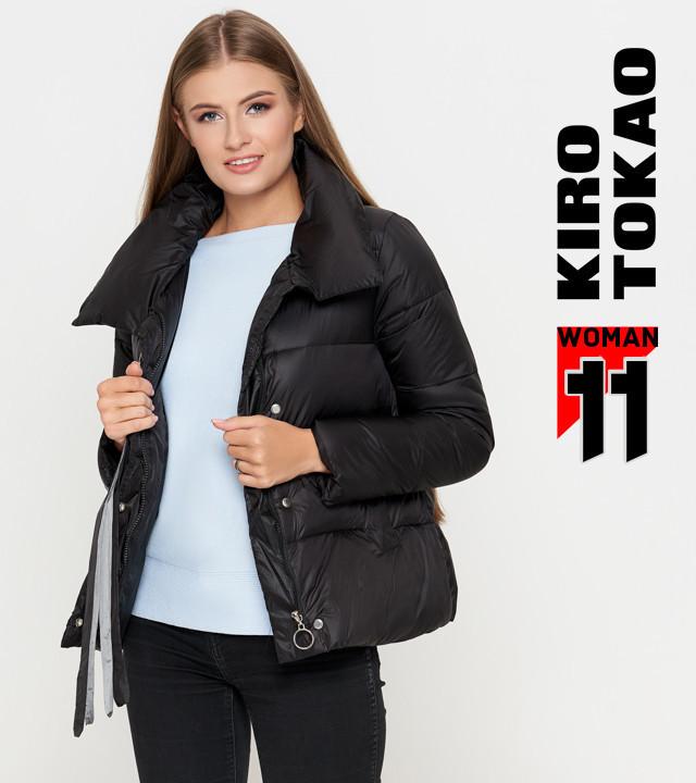 Осенняя куртка для женщин черный