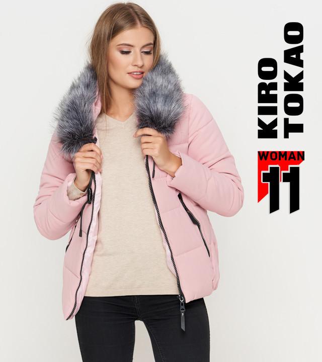 Короткая осенняя куртка пудра