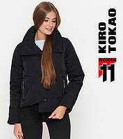 Куртка осенняя женская черная, фото 1