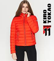 Женская куртка на осень красная, фото 1