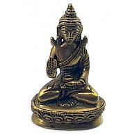 Статуэтка Будды из бронзы (Высота 7.5 см)
