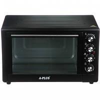 Электрическая печь духовка A-PLUS на 49 л 2000 Ватт 1582 настольная для кухни