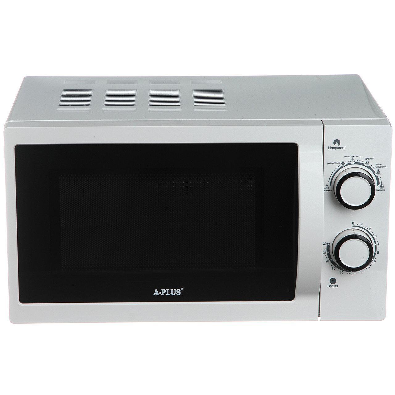 Микроволновая печь свч A-PLUS на 20 л 700 Ватт 1583 6 режимов мощности
