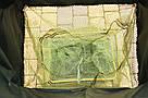 Садок рыбацкий (карповый) прорезиненный квадратный 2.5 м., фото 3