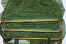 Садок рыбацкий (карповый) прорезиненный квадратный 2.5 м., фото 6