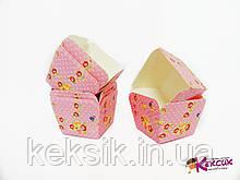 Тарталетки для маффинов квадрат розочки