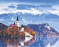 Картина по номерам Красота Австрии набор для рисования, 40х50 см, С Коробкой
