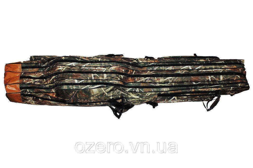 Чехол для удилищ (80 см.) на 3 секции. Ранцевый.