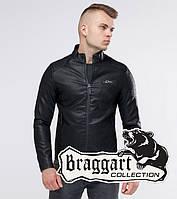 Черная короткая мужская куртка Braggart Youth осень-весна - L, 3XL