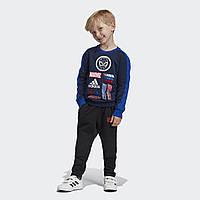 Детский свитшот Adidas Performance Marvel Spider-Man Crew ED6454, фото 1