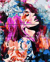 Картина по номерам на дереве Мечты о весне набор для рисования, 40х50 см, С Коробкой