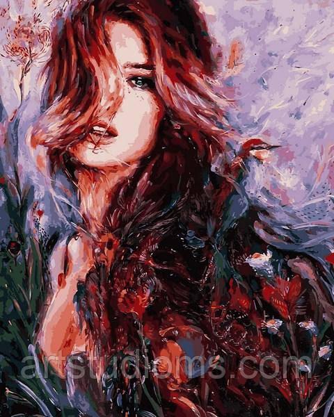Картина по номерам В красках лета набор для рисования, 40х50 см, С Коробкой