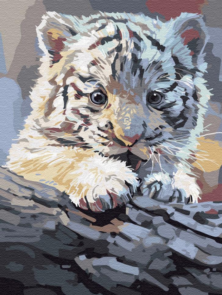 Картина по номерам Тигренок, 40x50 см., Brushme