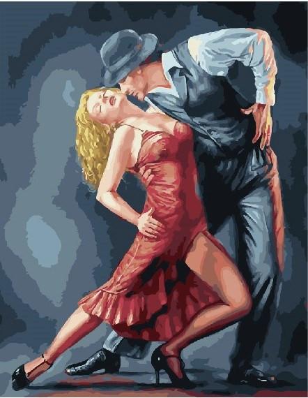 Картина по номерам Полуночное танго, 40x50 см., Brushme