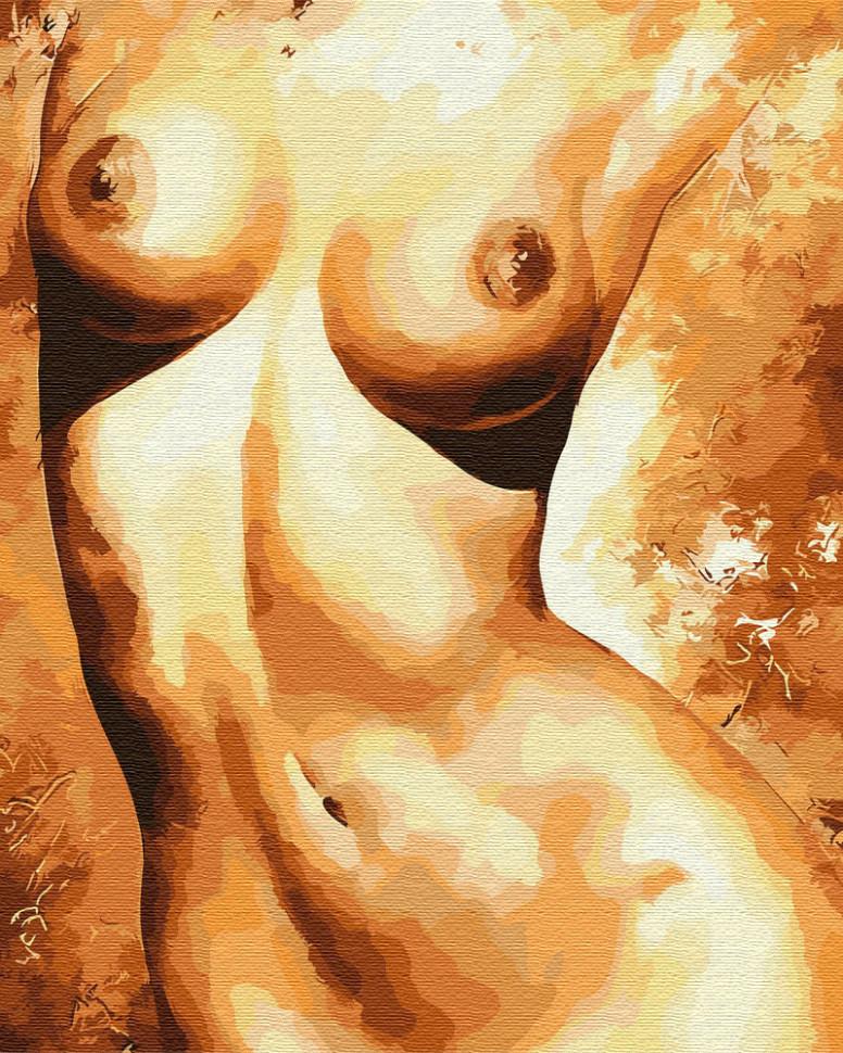 Картина по номерам Откровенная, 40x50 см., Brushme