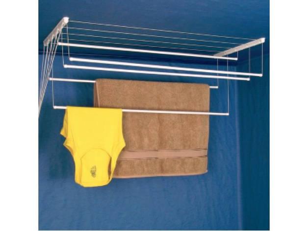 Сушилка потолочная на 5 прутьев 1.6 метра ( Квадратный профиль) filplast, фото 2