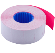 Цінник 26*16мм (1000шт, 16м), прямокутний, внутрішня намотка, кольоровий