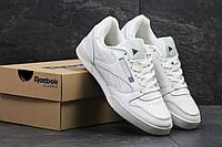 Мужские кроссовки в стиле Reebok Classic White, белые 45 (28,5 см)