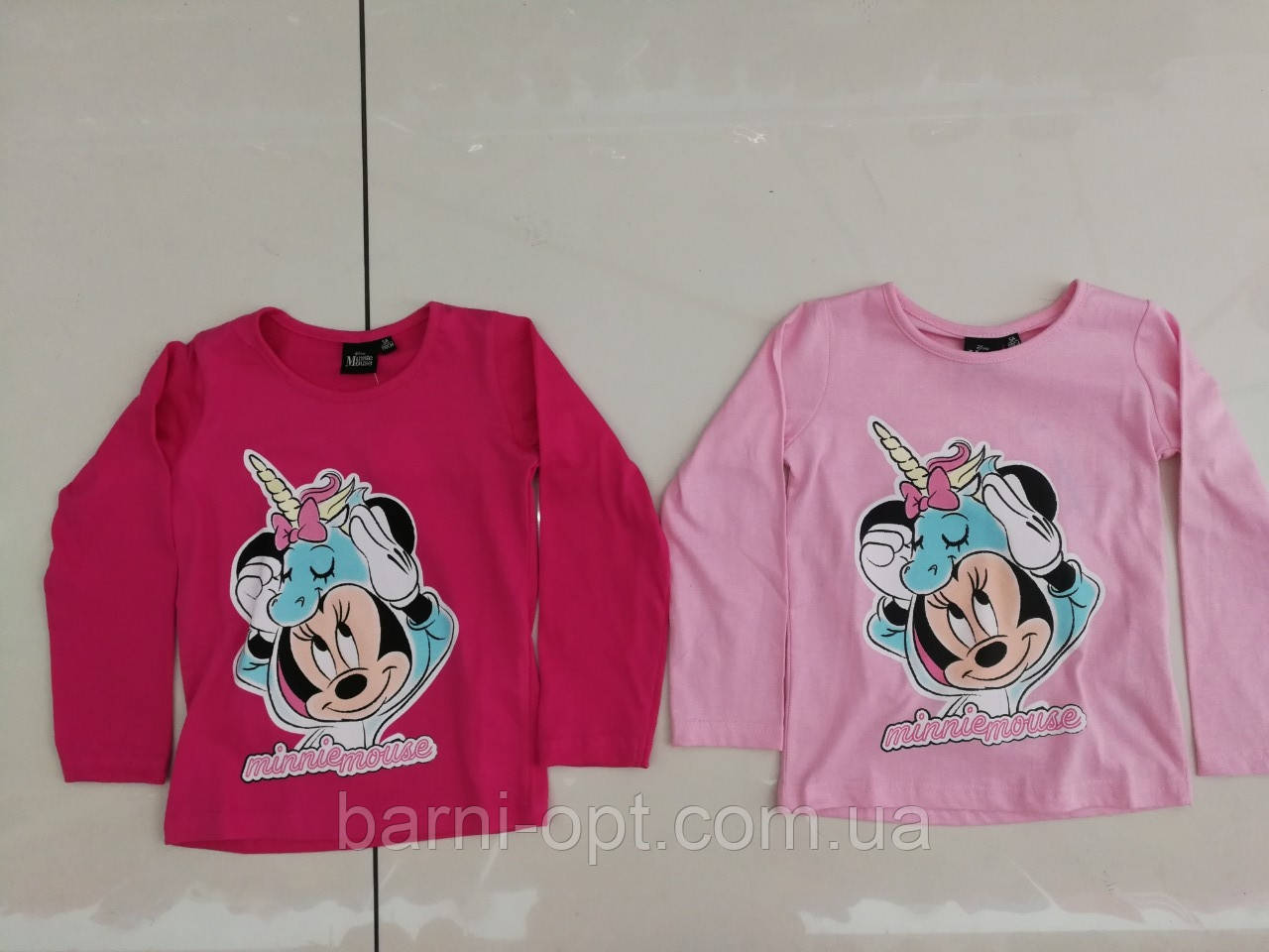 Регланы для девочек оптом,  Disney, 98-128 pp