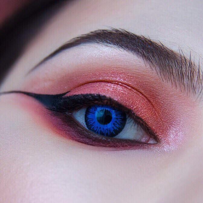 Интернет магазин цветных линз для глаз Купить синие линзы для глаз Недорого Украина!