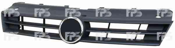 Решітка радіатора VW POLO V чорна відкрита (FPS). 6R0853651B